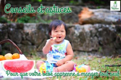 Conseils et astuces pour que votre bébé apprenne à manger tout seul